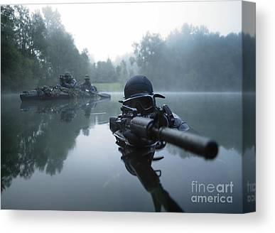 Gun Barrel Canvas Prints