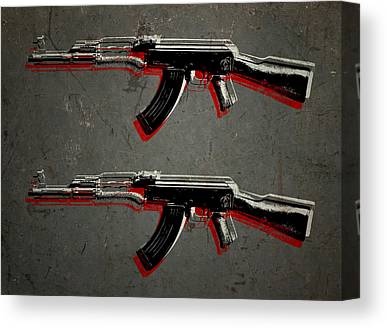 Rifles Canvas Prints
