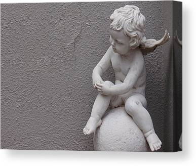 Angels Watching Canvas Prints