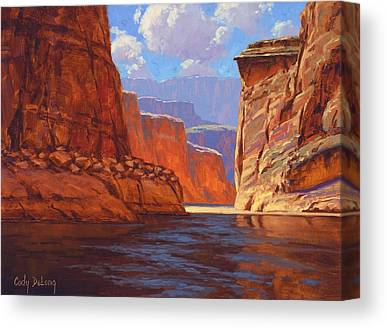 Canyon Canvas Prints