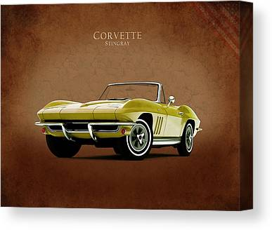 Chevrolet Corvette Canvas Prints