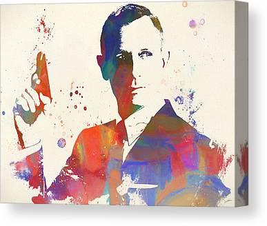 Goldeneye 007 Canvas Prints
