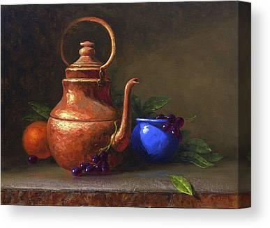 Tea Pot Canvas Prints