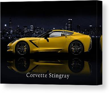 Chevrolet Photographs Canvas Prints