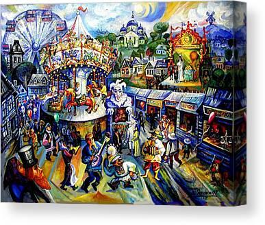 Roussimoff Canvas Prints