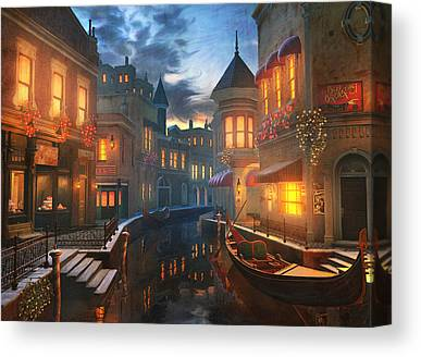 Night Canvas Prints