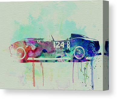 Italian Classic Cars Canvas Prints