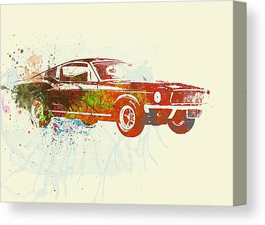 Ford Automobiles Canvas Prints