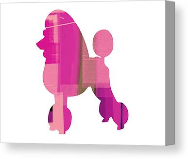 Poodle Canvas Prints