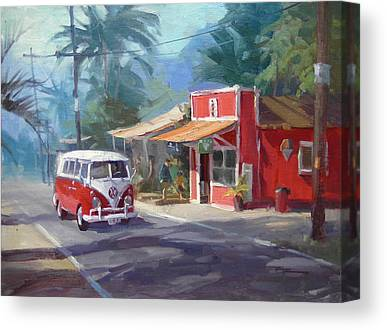 Oahu Paintings Canvas Prints