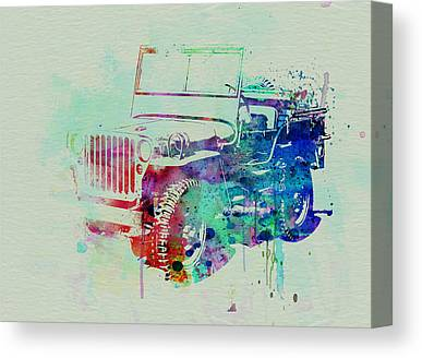 Jeep Canvas Prints