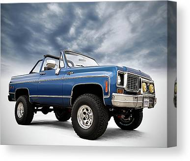 Offroading Canvas Prints