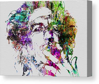 Keith Richards Canvas Prints