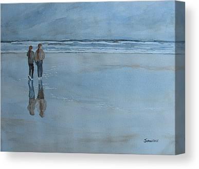 Agate Beach Canvas Prints