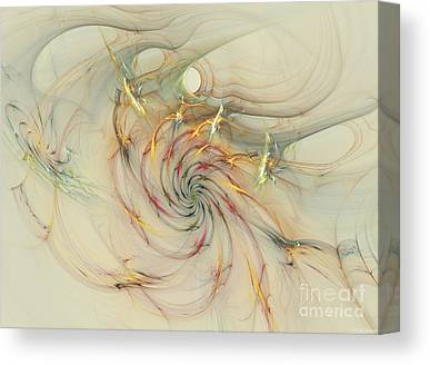 Generative Mixed Media Canvas Prints