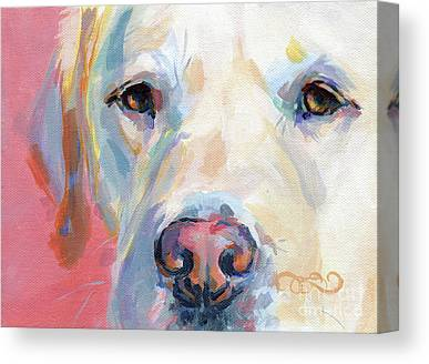 Soulful Eyes Canvas Prints