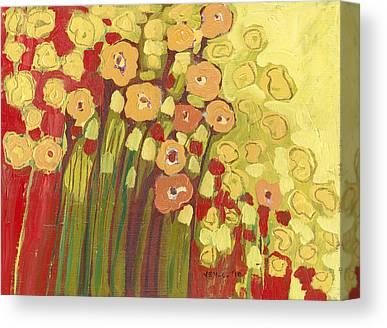 Floral Bouquets Canvas Prints