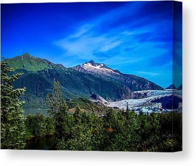 Juneau Canvas Prints