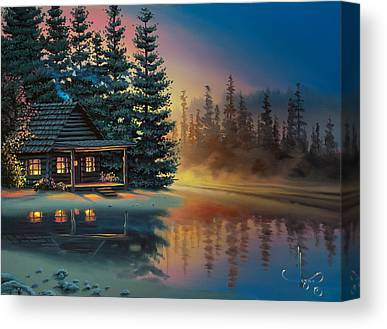 Cabin Canvas Prints