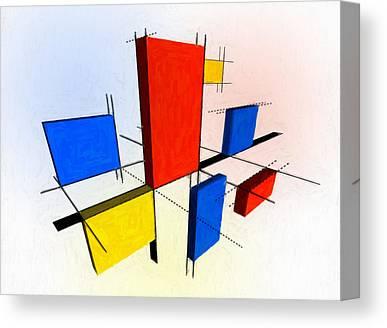 Dimensional Canvas Prints