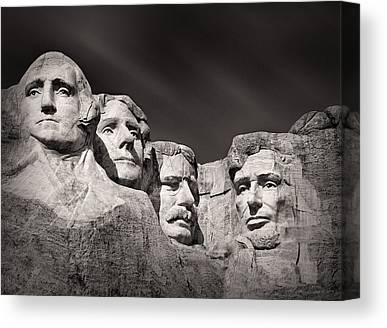 Carved Stone Canvas Prints