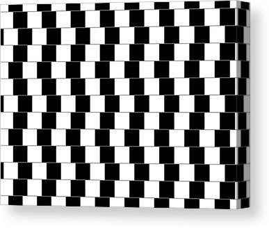 Optical Illusion Canvas Prints