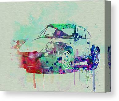 Naxart Drawings Canvas Prints