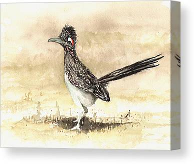 Roadrunner Canvas Prints