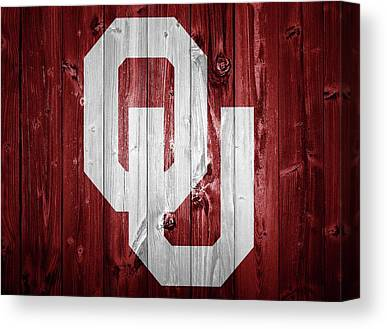 Oklahoma University Canvas Prints