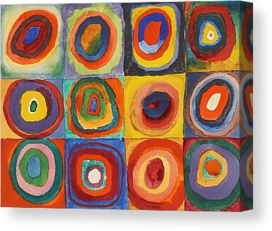 Wassily Kandinsky Canvas Prints