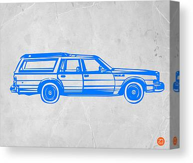 Iconic Car Canvas Prints