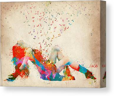 Bursting Canvas Prints