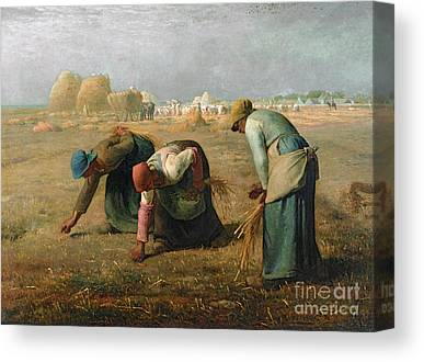The Gleaners Canvas Prints