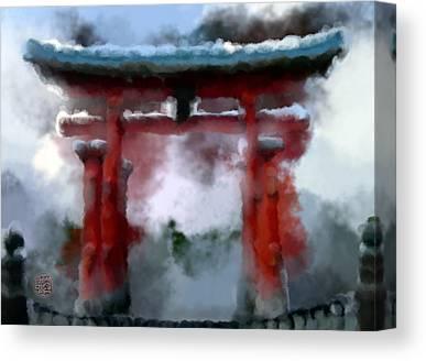 Miyajima Canvas Prints