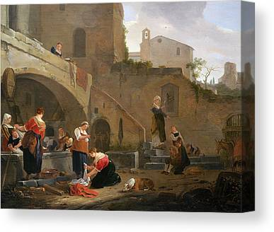 Lavoir Paintings Canvas Prints