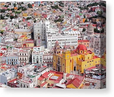 Guanajuato Photographs Canvas Prints
