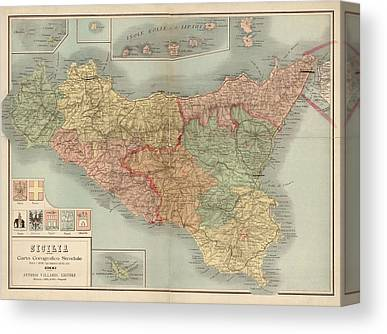 Sicily Canvas Prints