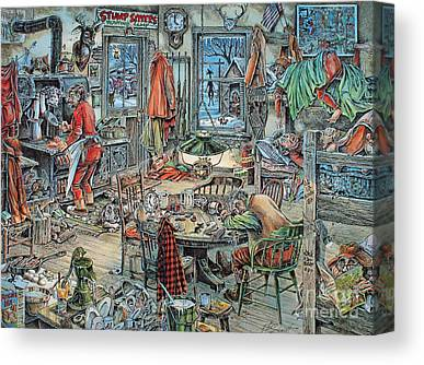 Jack Brauer Canvas Prints