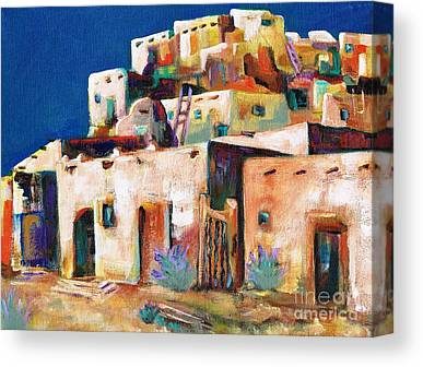 New Mexico Canvas Prints