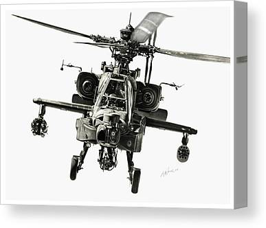 Helicopter Canvas Prints