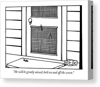 Screen Doors Drawings Canvas Prints