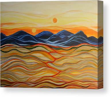 Macrocosm Paintings Canvas Prints