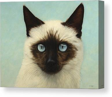 Chat Drawings Canvas Prints