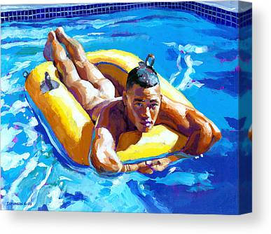 Inflatable Paintings Canvas Prints