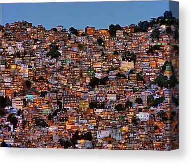 Favela Canvas Prints