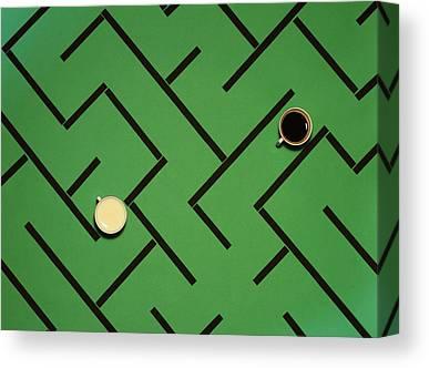 Maze Canvas Prints