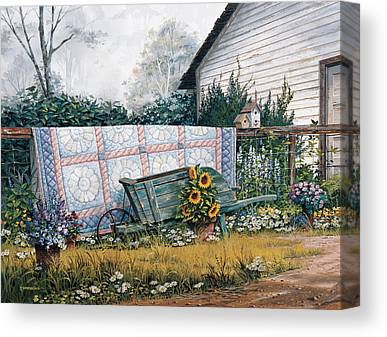 Shed Canvas Prints