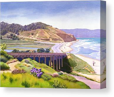 Historic Bridge Canvas Prints