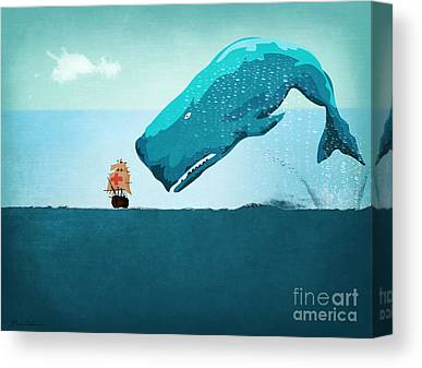 Ocean Life Canvas Prints