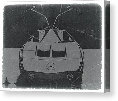 Mercedes Benz C Iii Concept Canvas Prints